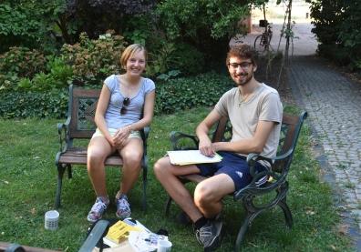 Teamleitung - Kirsty & Jannik